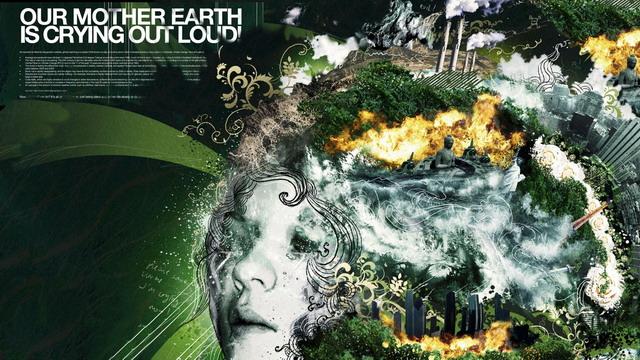 bumi menangis